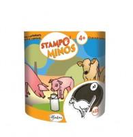 Dětská razítka StampoMinos - Zvířátka na statku