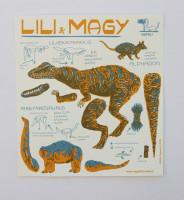Lili a Magy - pohyblivá vystřihovánka