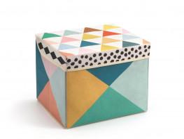 Textilní box na hračky