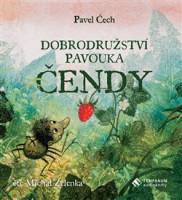 Dobroudružství pavouka Čendy - audiokniha na CD