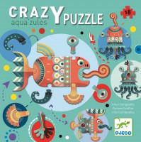 Kreativní puzzle - obyvatelé moře - 18 ks