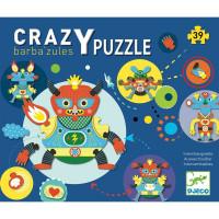 Kreativní puzzle - příšerky - 39 ks