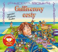 Gulliverovy cesty - audiokniha na CD