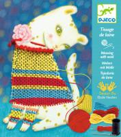 Výtvarná hra - tkaní - kočička parádnice