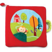 Lilliputiens - textilní knížka - Červená Karkulka