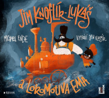 Jim Knoflík, Lukáš a lokomotiva Ema - audiokniha na CDmp3