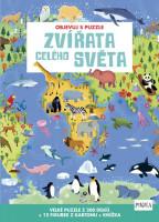 Objevuj s puzzle Zvířata celého světa
