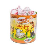 Dětská razítka StampoMinos - Jaro a Velikonoce