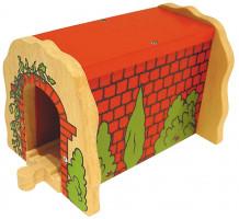 Bigjigs - Cihlový železniční tunel