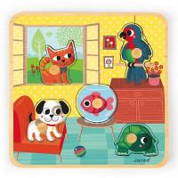 Puzzle – domácí mazlíčci