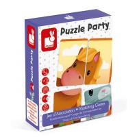 Puzzle party - karetní hra