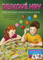 Deskové hry - Procvičujeme vyjmenovaná slova - B, L, M, P, S, V, Z