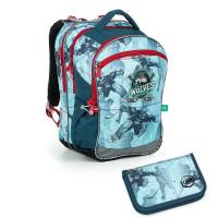 Školní batoh a penál Topgal COCO 19012 B