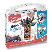 Minibox Maped Creativ - Barevné písky - Totemy