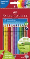 Pastelky Faber-Castell JUMBO GRIP - 12 barev