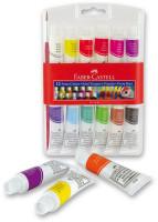 Temperové barvy Faber-Castell v tubě - 12 barev