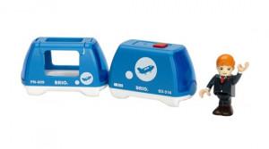 Brio - Elektrický vláček s panáčkem