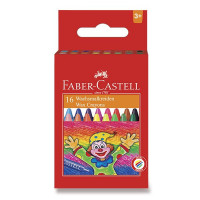 Voskovky Faber-Castell kulaté - 16 barev
