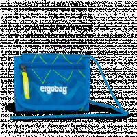 Peněženka Ergobag  - modro zelená zig zag
