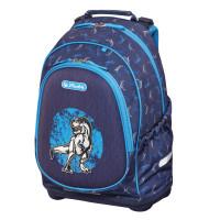 Školní batoh Herlitz Bliss - Modrý dino