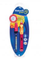Bombičkové pero Griffix 4 pro leváky - červené