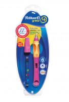 Bombičkové pero Griffix 4 pro praváky - růžové