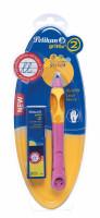 Tužka Griffix 2 pro leváky - růžová