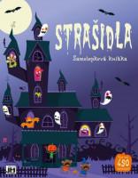Strašidla - velká samolepková knížka