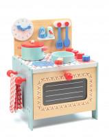 Modrá kuchyňka