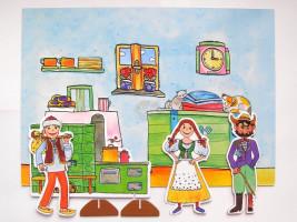 Marionetino - Loutková  pohádka bez tyček-  Čert a Káča