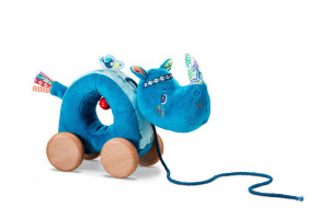Lilliputiens - nosorožec Marius - tahací hračka