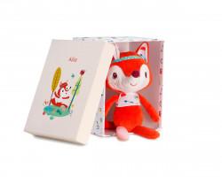 Lilliputiens - liška Alice - hračka na mazlení