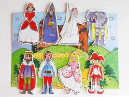 Marionetino – Loutková pohádka bez tyček – Královská II