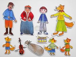 Marionetino - Loutkový balíček bez tyček - Budulínek