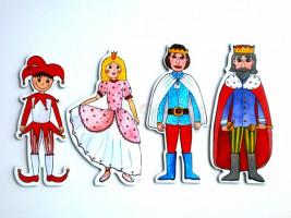 Marionetino -  Loutkový balíček bez tyček - Královská sada I