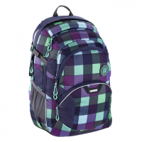 Školní batoh coocazoo JobJobber2, Green Purple District