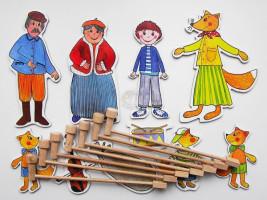 Marionetino - Loutkový balíček s tyčkami - Budulínek
