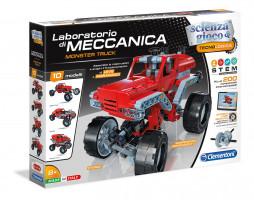 Mechanická laboratoř - Monster truck - 10 modelů - 200 dílků