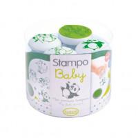 Dětská razítka StampoBaby - Zvířátka z daleka