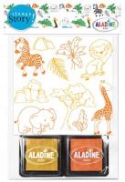 Vyprávěcí razítka StampoStory - safari