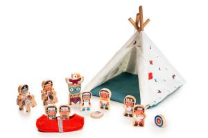 Lilliputiens - Vigvam a indiáni