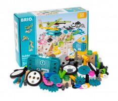 Brio Builder - stavebnice sada s motorem - 120 ks