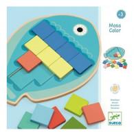Rybka - barevná mozaika