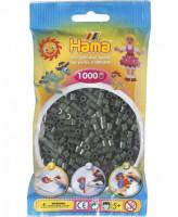 Hama midi - korálky tmavě zelené - 1000 Ks