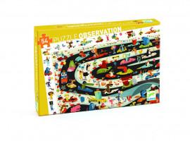 Puzzle – automobilové závody - 54 ks