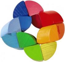 Chrastítko -  Duhový kroužek