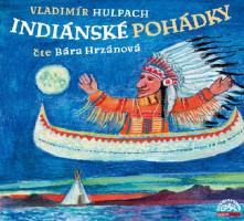 Indiánské pohádky - audio na CD-MP3