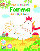 Moje omalovánka Farma - od tečky k tečce
