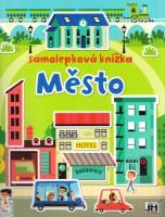 Město -  samolepková knížka