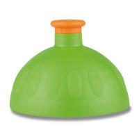 Náhradní víčko na Zdravou lahev, zelená/oranžová